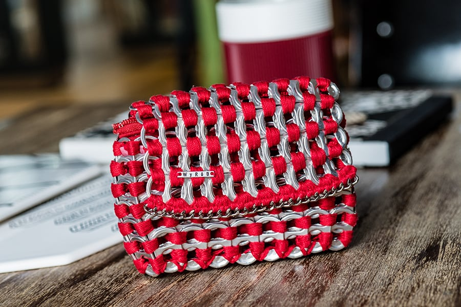 Womb Hong Kong Red coin purse by Wyrob