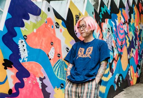 Zoie Lam Zlism illustrator fashion designer Hong Kong art street art