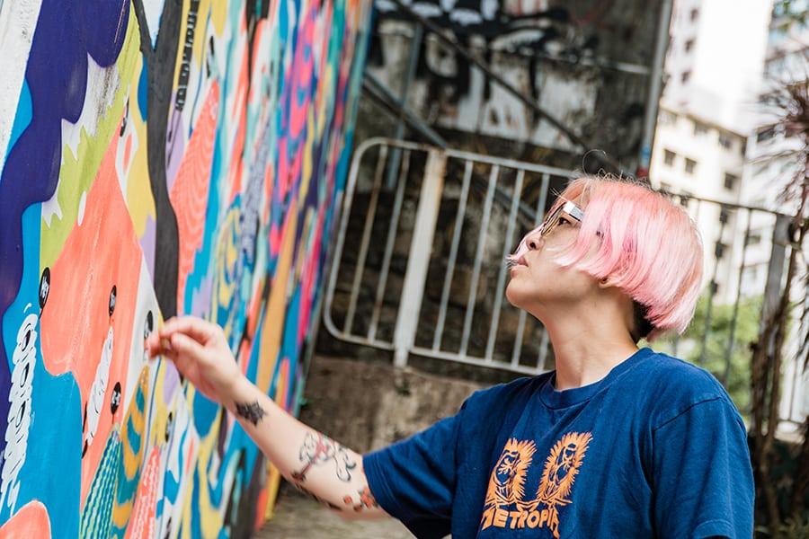 Zoie Lam Zlism illustrator fashion designer Hong Kong art wall art