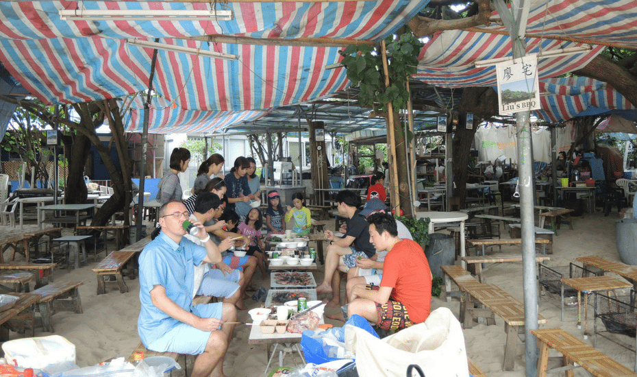 barbecue pits in hong kong shek o