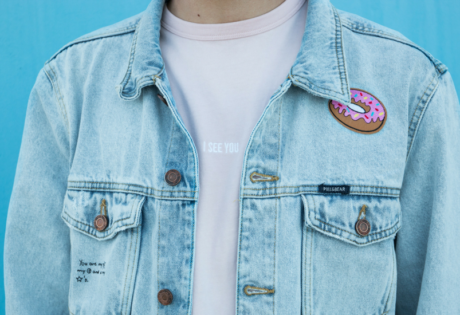 indie fashion in hong kong denim jacket