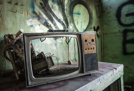 what we're watching July vintage TV set
