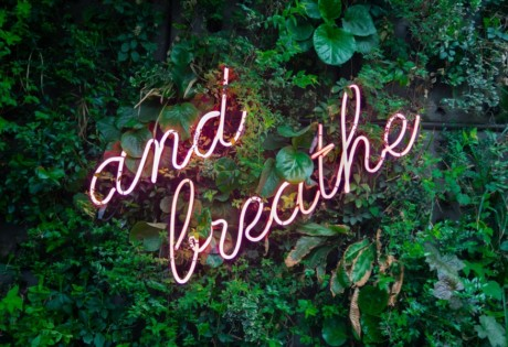 5-unscientific-ways-to-relax-in-Hong-Kong-neon sign and breathe