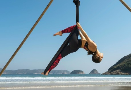 things to do this weekend in Hong Kong what's on in Hong kong Aerial Beach Yoga