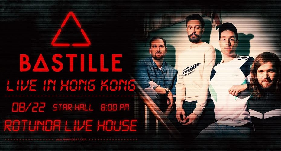 Bastille Live in Hong Kong concerts live music