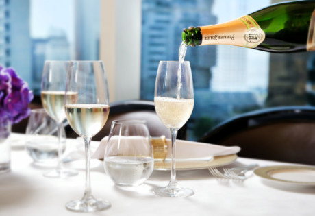 Champagne brunch on The Eighth Conrad Hong KOng