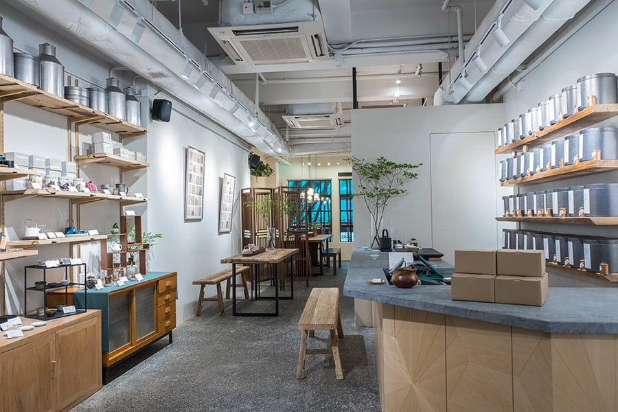 Plantation tea house by teakha sai ying pun interior