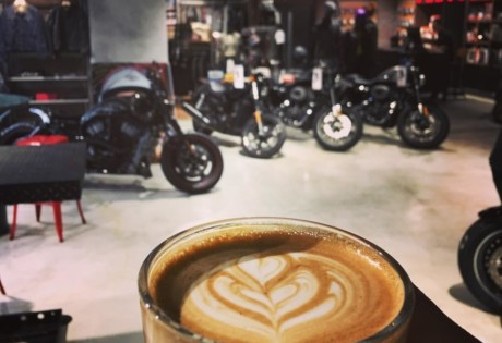 Coffee and Harley Davidson - winning combination