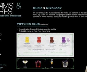 Tippling Club Menu Singapore One night in Hong Kong
