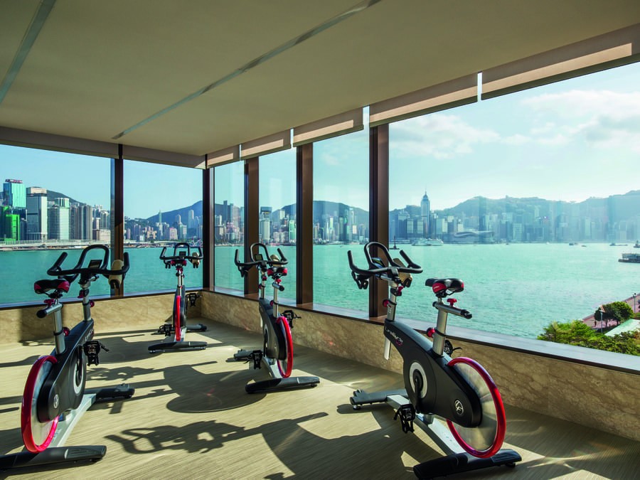 hotels with wellness programmes in Hong kong Kerry Hotel Base Camp