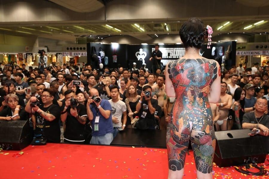 6th Hong Kong China International Tattoo Convention Kai Tak Cruise Terminal.