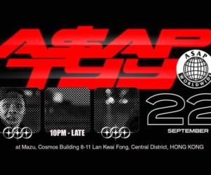 A$AP TyY Hong Kong concerts hip hop