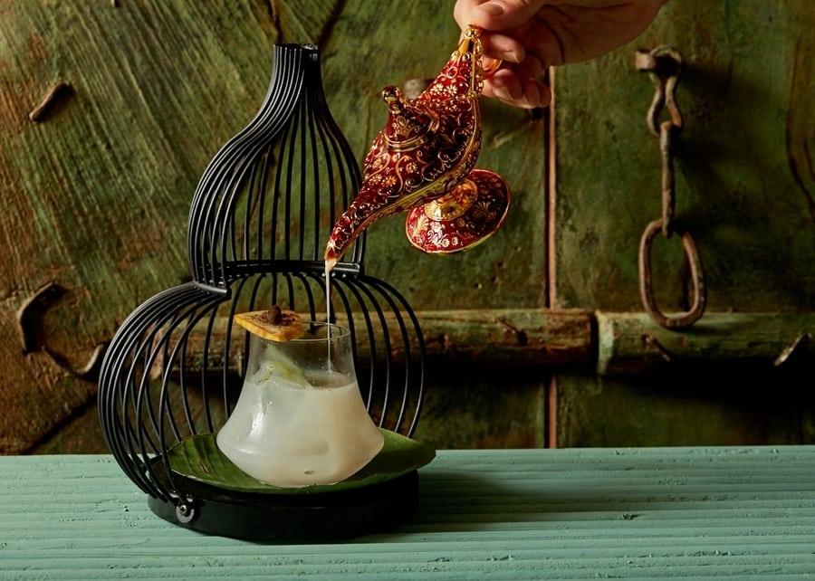Chaiwala Magic Lamp cocktail