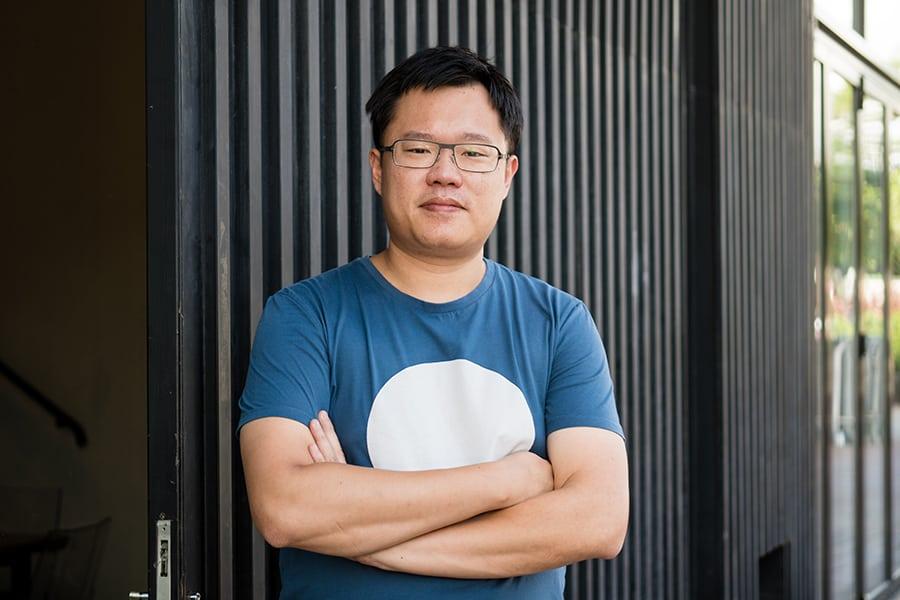 Test Kitchen founder Vincent Mui