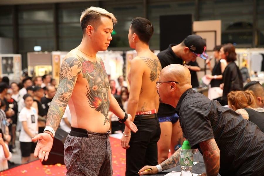 Hong Kong China International Tattoo Convention 6th art culture tattoo