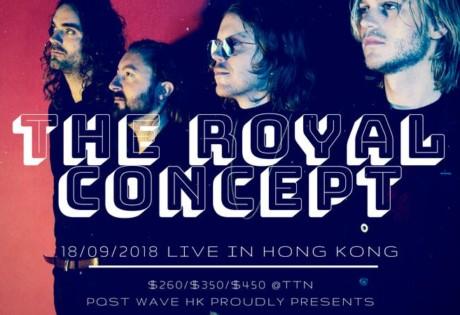 Hong Kong concerts The Royal Concept Live in Hong Kong