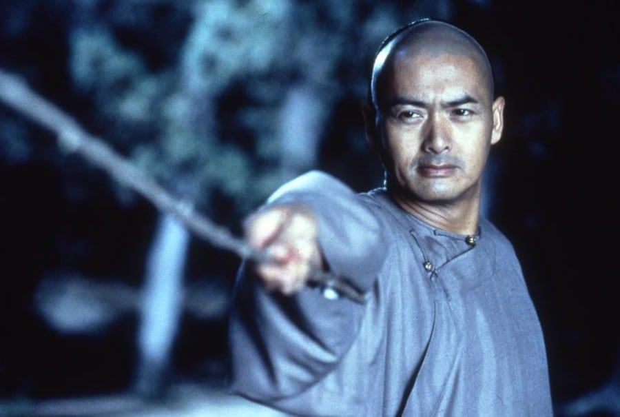 Hong Kong heartthrobs Chow Yun Fat in Crouching Tiger Hidden Dragon