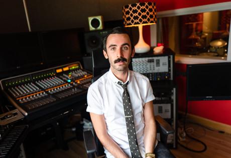 The Record Room Evan Slagle interview recording mixing