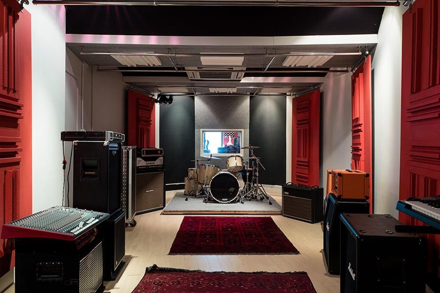 The Record Room Evan Slagle interview recording mixing studio