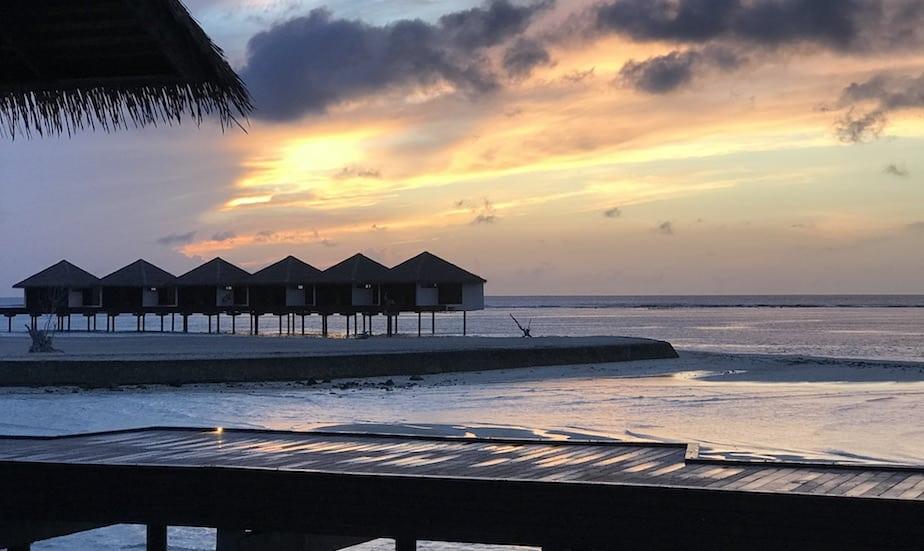 Sunrise at The Residence Maldives