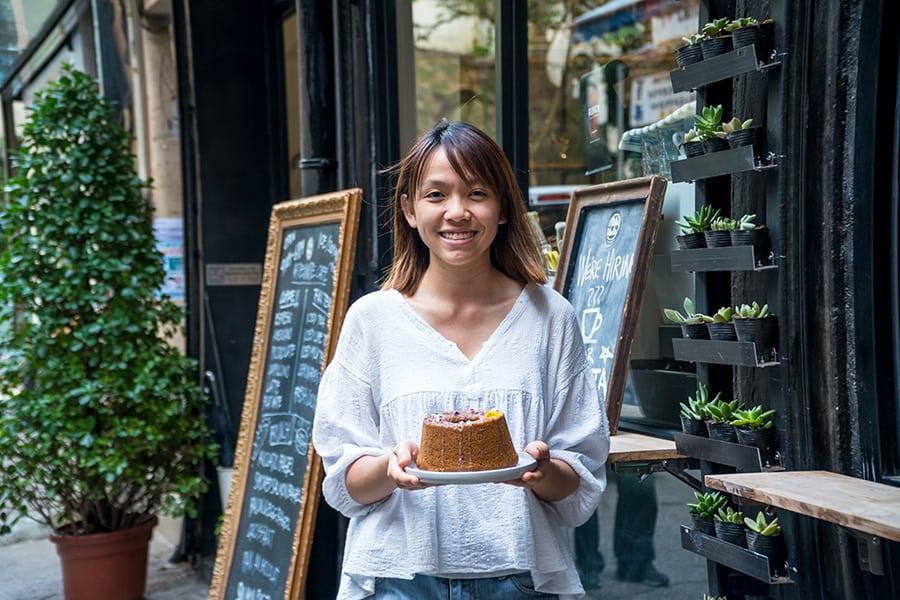 The Vege Lab vegan cake online store Yuki Chan