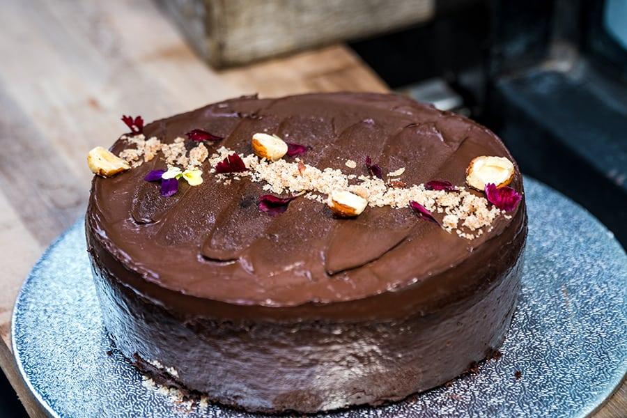 The Vege Lab vegan cake online store chocolate hazelnut cake