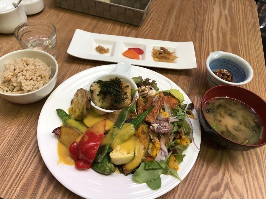 Vegan Vegetarian restaurants in Tokyo Tamana Shokudo