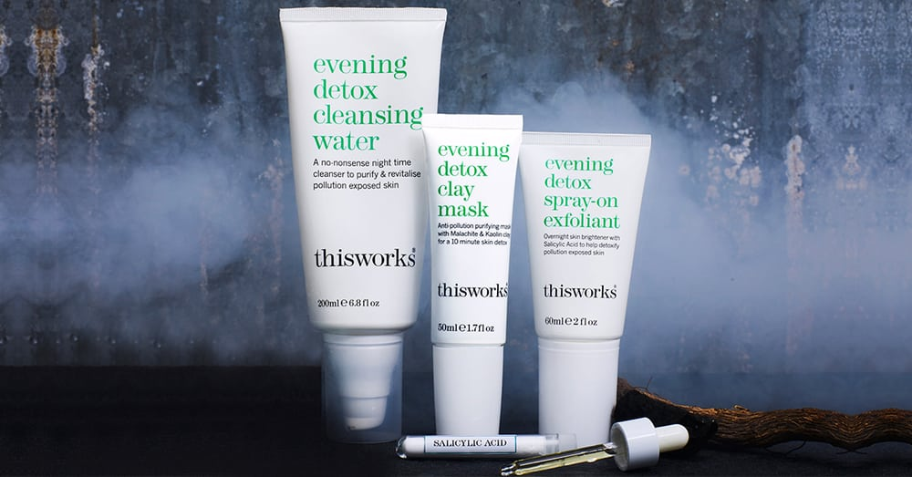 Hong Kong beauty skincare this works evening detox collection