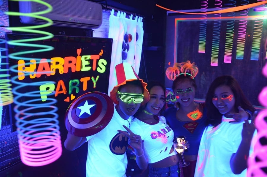 event venues in Hong Kong Chalk Party