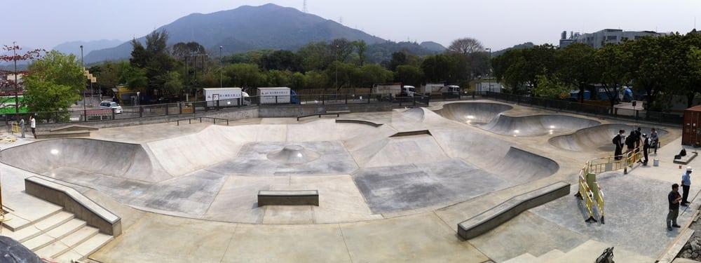 skateparks in Hong Kong Fanling