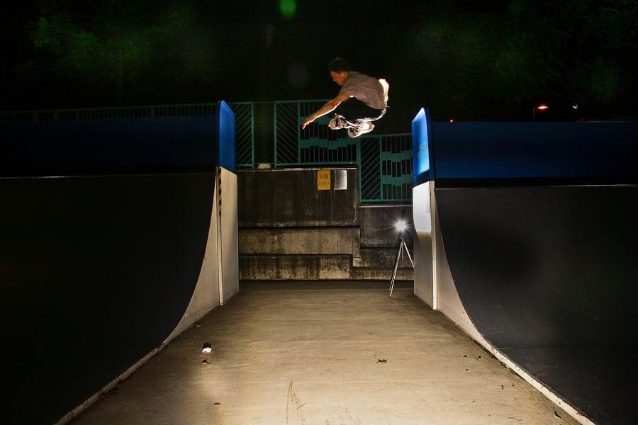 Skateparks in Hong Kong Mei Foo skater