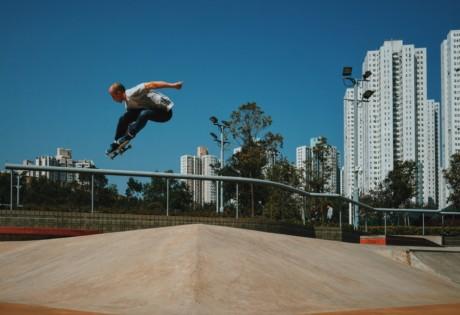 skateparks in Hong Kong skater in Tseung Kwan O