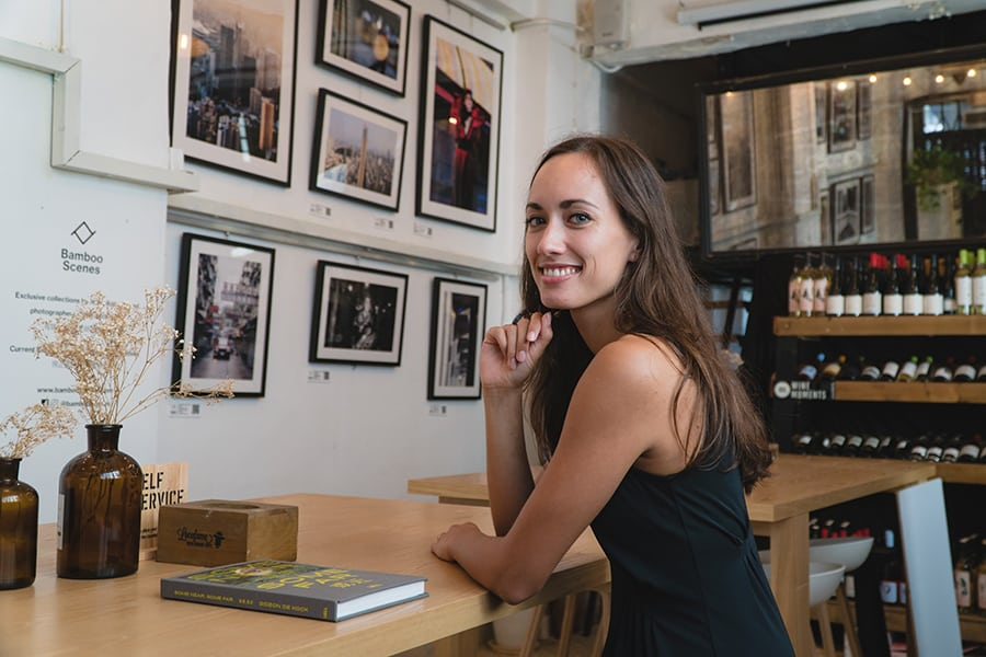 Madelon de Grave from Bamboo Scenes crafts a homely photography art space in Sai Ying Pun