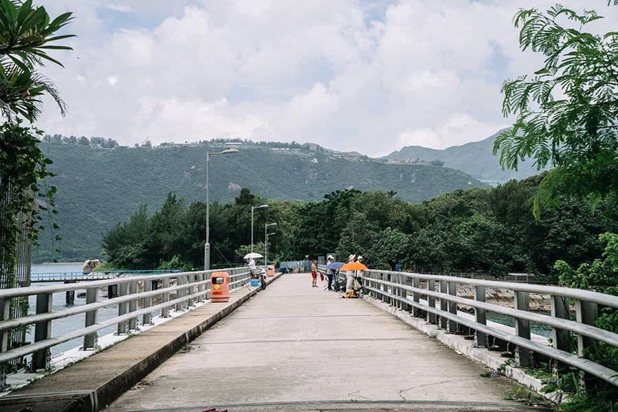 peng chau tai lei bridge