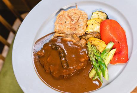vegan restaurants in Hong Kong POP Vegan vegetarian restaurants in Central Hedgehog Mushroom Steak