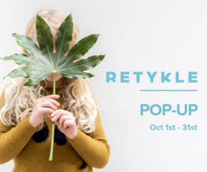 what's on in Hong Kong Retykle Pop Up