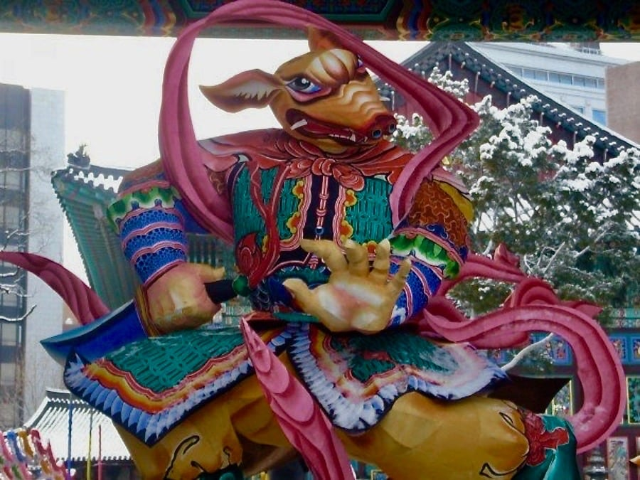 festivals in South Korea temple ornament