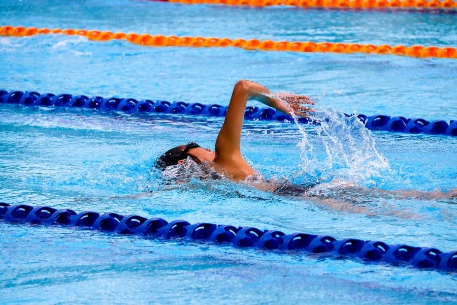 swimming pools in hong kong girl swimming