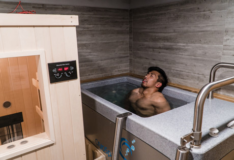 the studio by jab cryospa tub