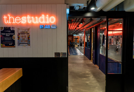 the studio by jab front entrance