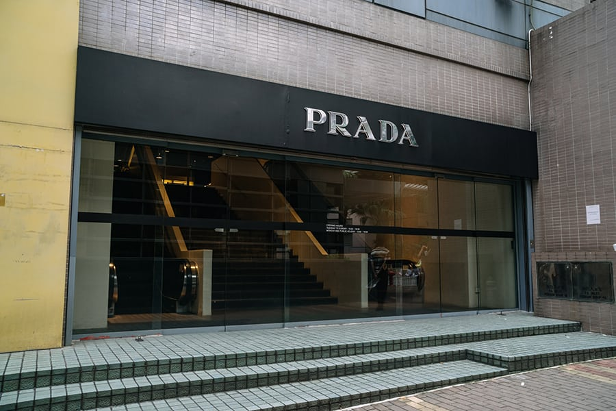 things to do in South Horizons Prada outlet