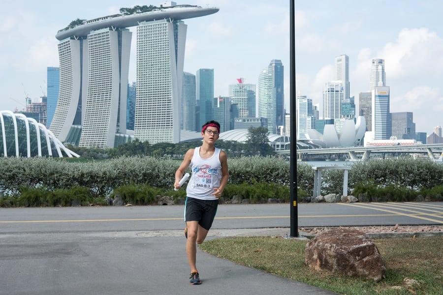24 Hour Race charity race end slavery Hong Kong Singapore