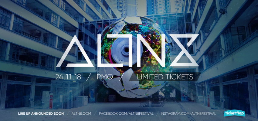ALTN8 Festival Hong Kong concerts