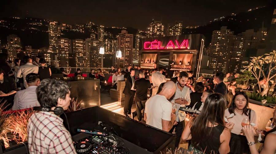 Ce La Vi rooftops bars in Hong Kong