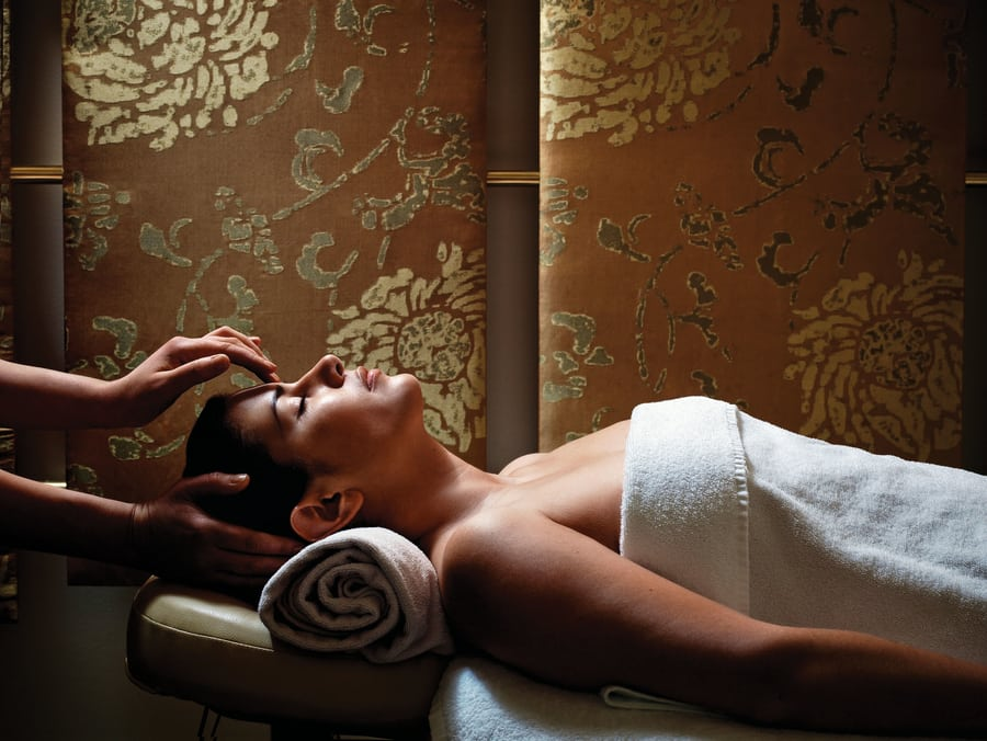 staycation in Hong Kong Chuan Spa Cordis Hong Kong massage
