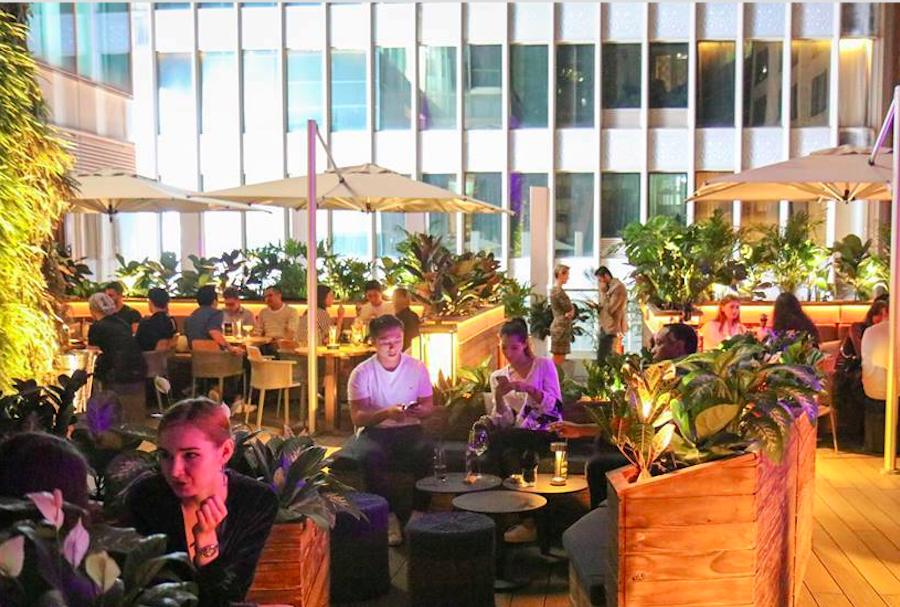 ICHU Peru rooftop bars in Hong Kong