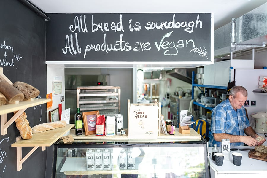 Mayse Artisan Bakery Hong Kong vegan sourdough interior
