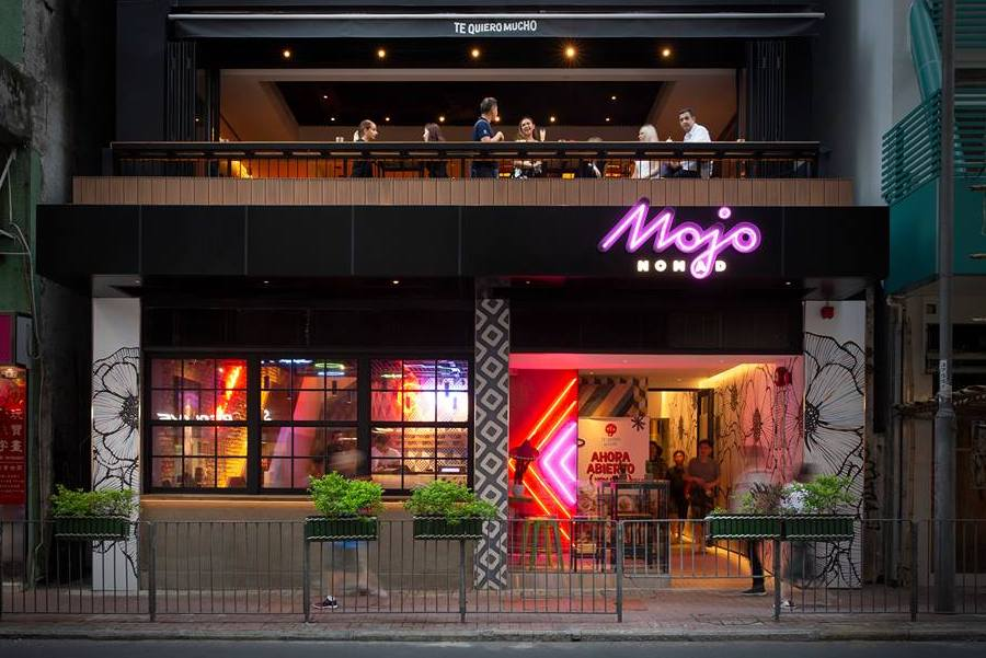 Mojo Nomad Te Quiero Mucho rooftop bars in Hong Kong