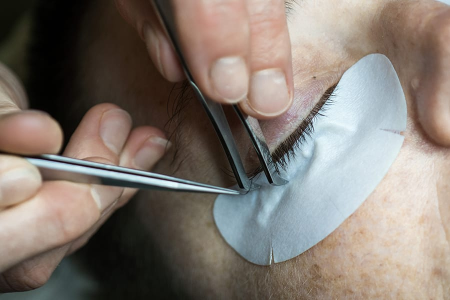 Moksa Central lash extensions