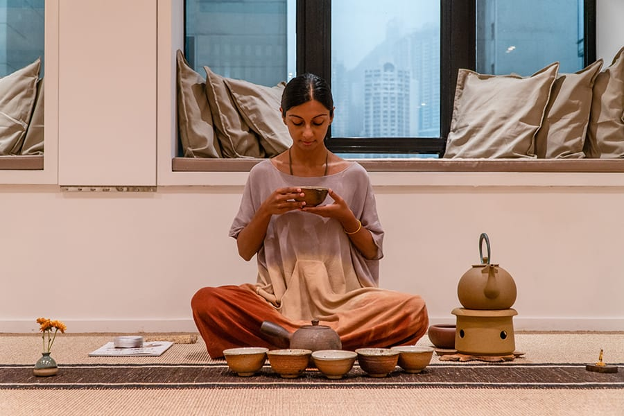 The Way of Tea: We chat with Resham Daswani from Spiral Spaces about Cha Dao